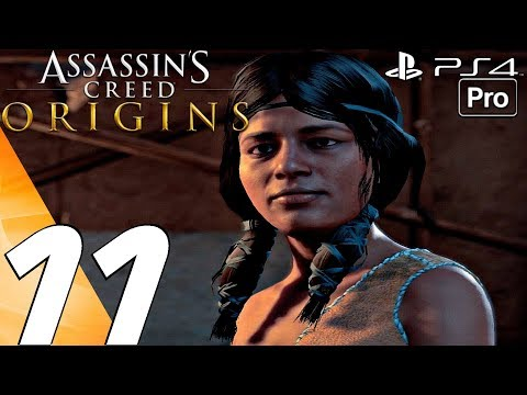 Assassin's Creed Origins - Gameplay Walkthrough Part 11 - Taimhotep's Song (PS4 PRO)