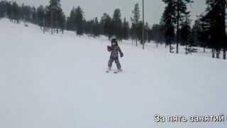Горные лыжи, обучение катанию детей. SkiFactor.