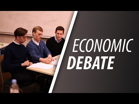 The Economics Debate - UCL Final Round
