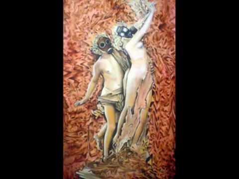 Marcelo Halmenschlager Brazilian Artist Painting Series Stone to Skin