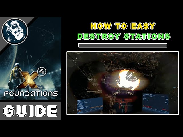 x4 foundations destroy station