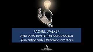 2018 Celebrate Invention - Rachel Walker