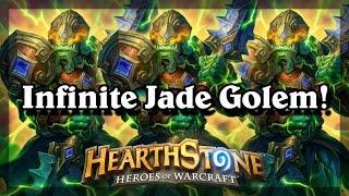 Hearthstone - Infinite Jade Golem!