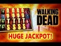 ** SUPER JACKPOT** The WALKING DEAD slot machine Max Bet HUGE JACKPOT HANDPAY!