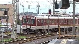 松阪駅に到着~出発する近鉄山田線下り急行2600系