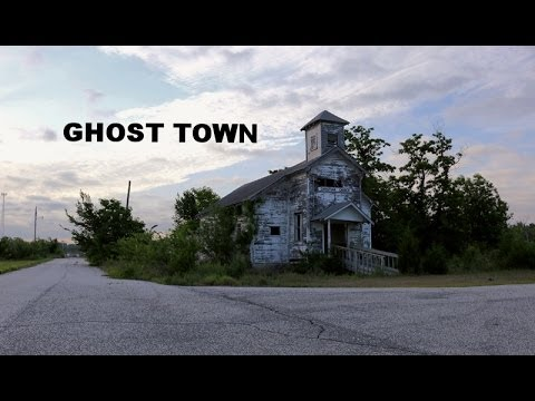 UE - Exploring the Picher, Oklahoma Ghost Town