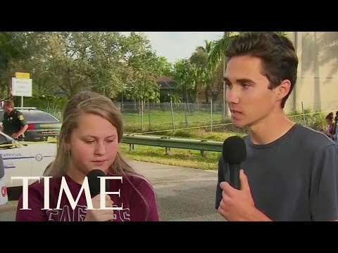 Florida Shooting Survivor Calls For Action: 'We're Children. You Guys Are The Adults' | TIME