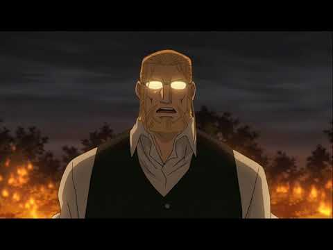 Hohenheim and Alphonse vs Pride (Eng Dub) - Fullmetal alchemist Brotherhood