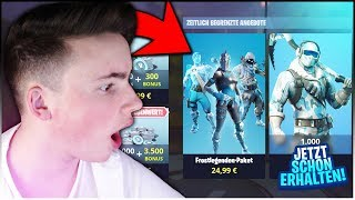 """So you can already get the """"FROSTLEGENDEN-PACKET"""" (EASY) !😱 