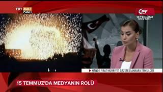 Hande Fırat, 15 Temmuz'da Medyanın Önemini Anlatıyor - TRT Avaz