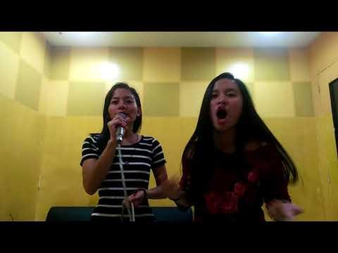 Umbrella (Phina Bagos and Sheila Montalbo) SM Batangas Karaoke🎤😂