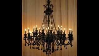 17062014   Brass Chandelier With Crystals   Brass Chandelier Parts