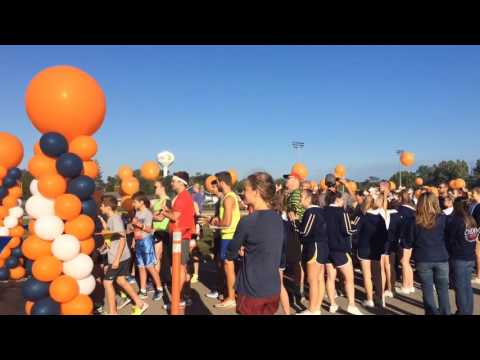 Watch Happy Birthday song for Chad Carr at #ChadTough run