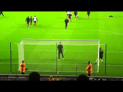 Liverpool Players' Shots vs. Brad Jones