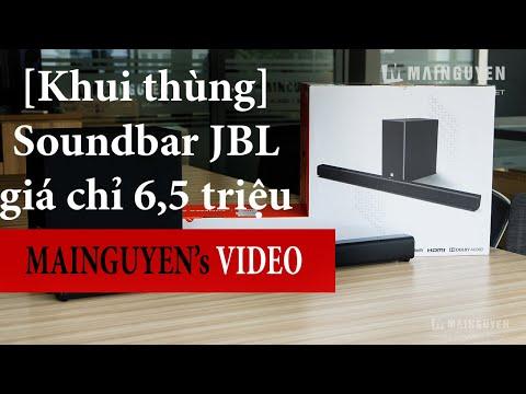 [Khui Thùng] JBL Cinema SB160 - Bộ Soundbar Hàng Chất Giá Cực ổn Của JBL