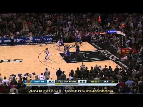 Unstoppable-4 2013-2014 Offense Mix for San Antonio Spurs