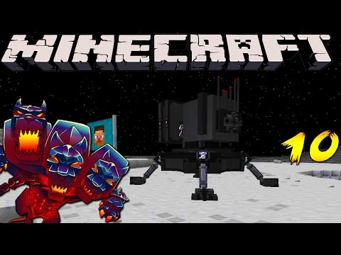 Minecraft Mods - MONSTERCRAFT - Ep # 10 'SPACE STATION'
