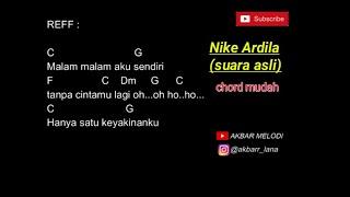 Chord & Lirik Bintang kehidupan - Nike Ardila