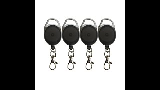 Clear Carabiner Badge - Save On Premier Carabiner Badge Reels With Clear Vinyl Strap