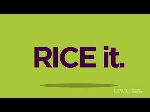 What Is the RICE Method for Injuries? | UPMC HealthBeat