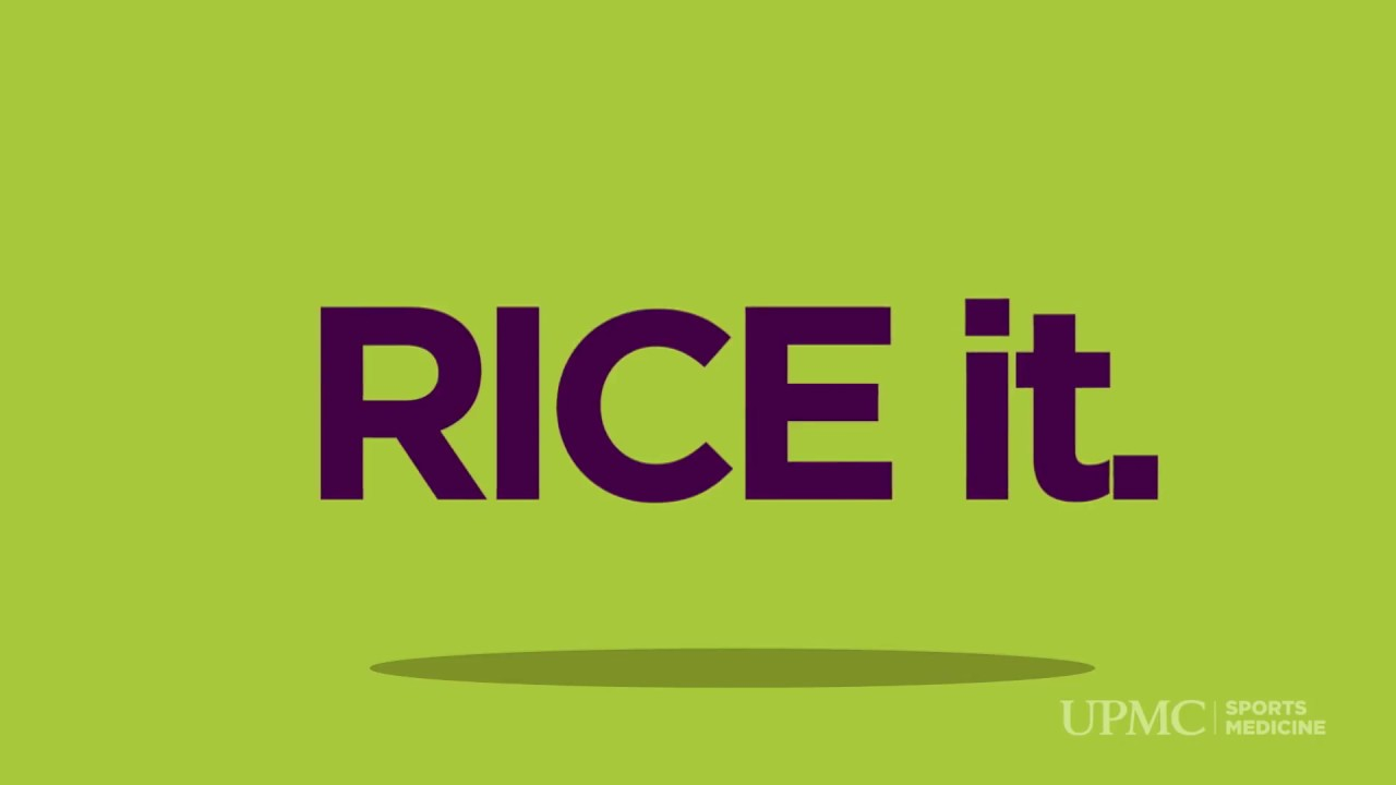 Video: What Is the Rice Method for Injuries? | UPMC