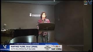 Oriol Martinez Floro – Suite Hellenique by Pedro Iturralde