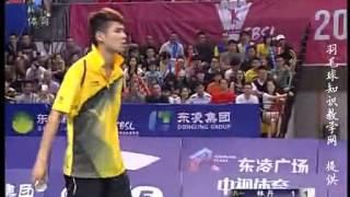 2013.9.28 - MS - Lin Dan Vs Liu Ming - China Badminton Super League