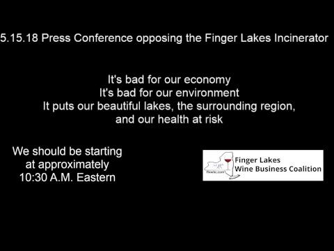 May 15, 2018 Seneca Lake Guardian Press Conference