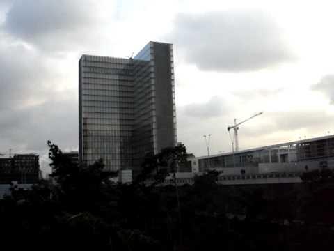 Paris -  Biblioteque Francoise Mitterrand - 12-Dic-2007