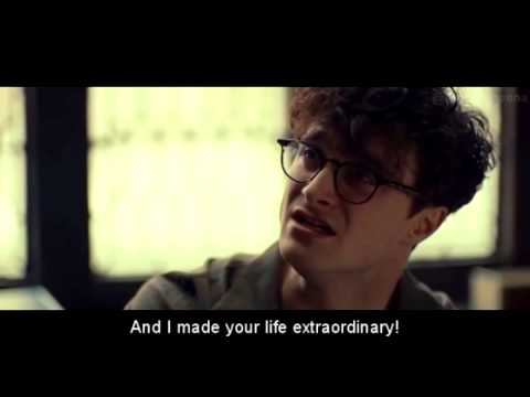 """Dane DeHaan & Daniel Radcliffe """"We both know why you can't come"""" scene from Kill Your Darlings"""