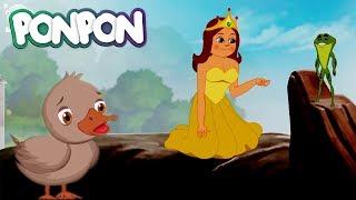 Kurbağa Prens & Çirkin Ördek Yavrusu Masalı Çizgi Filmi | Türkçe Full HD | Fairy Tales
