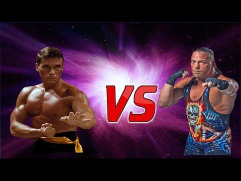 Jean Claude Van Damme vs Rob Van Dam