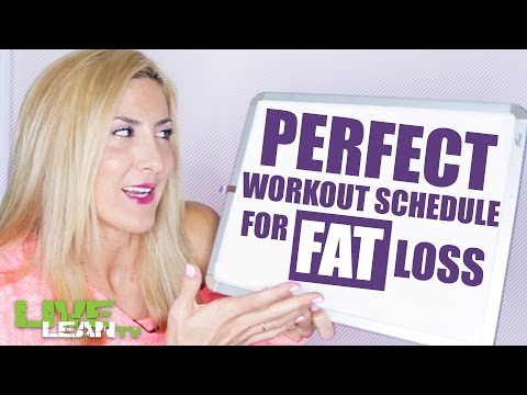 The Perfect Workout Schedule for Fat Loss