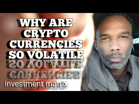 Why Are CryptoCurrencies So Volatile