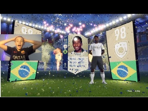 ICON PELE IN FIFA 18 WORLD CUP PACK OPENING! INSANE LUCK