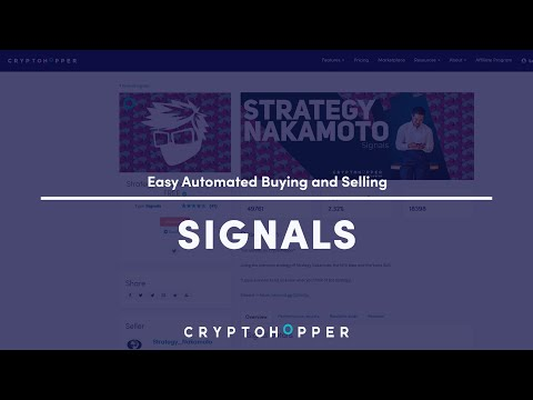Buying and Selling automatically with Signals – Cryptohopper