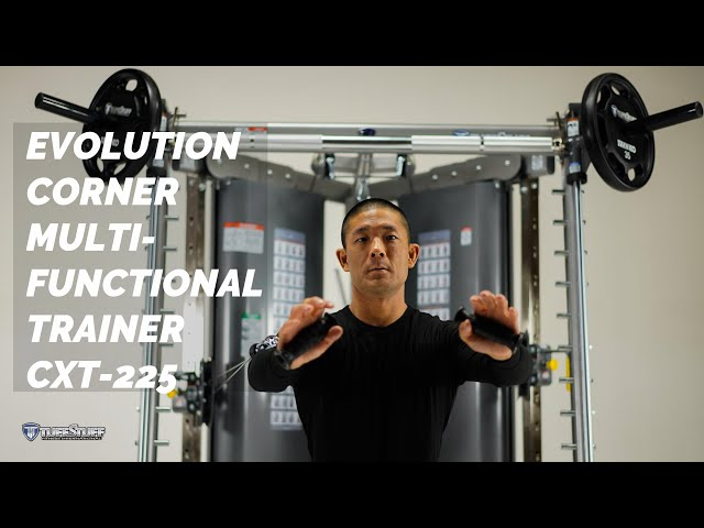 TuffStuff's Evolution Corner Multi-Functional Trainer with Smith Press Attachment (CXT-225)