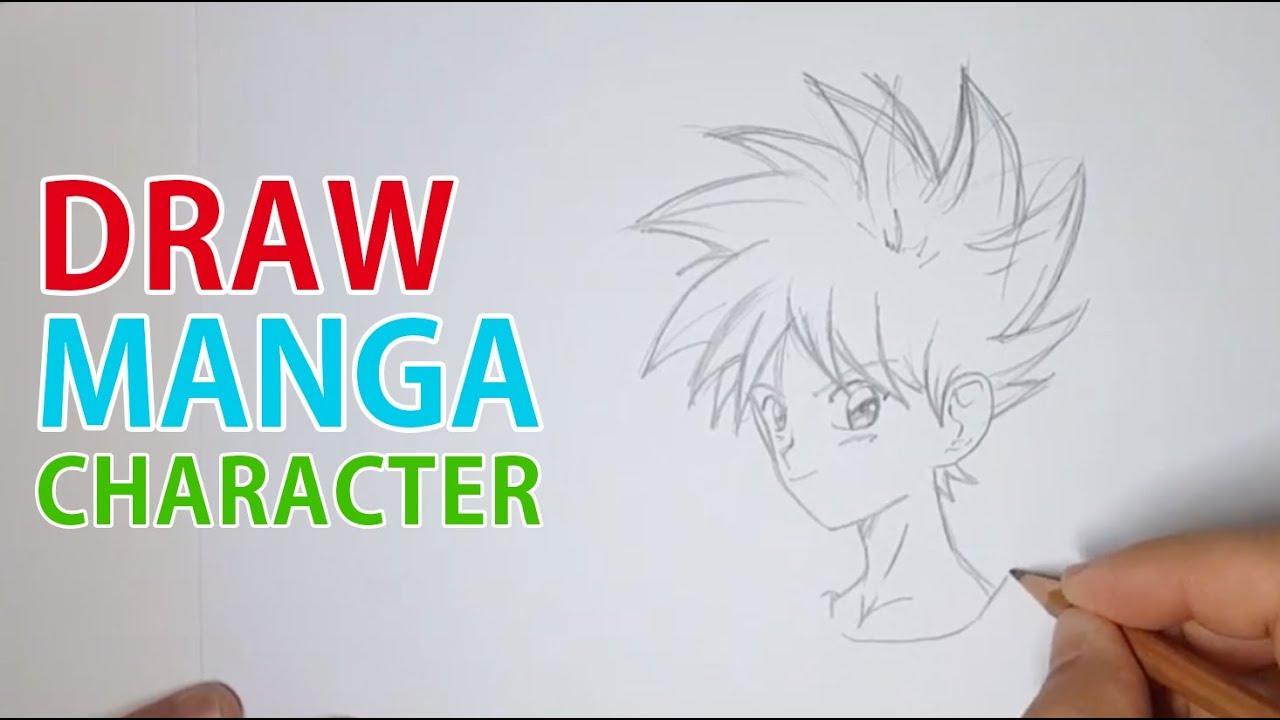 Comment Dessiner Un Personnage De Manga Youtube