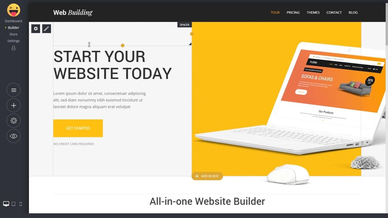 Simvoly Website Builder - Free white label website