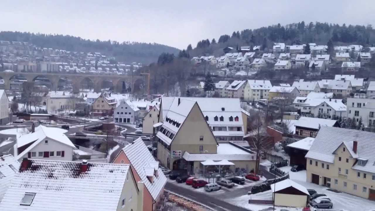 Nagold Germany by Day and Night (Tag und Nacht) - YouTube