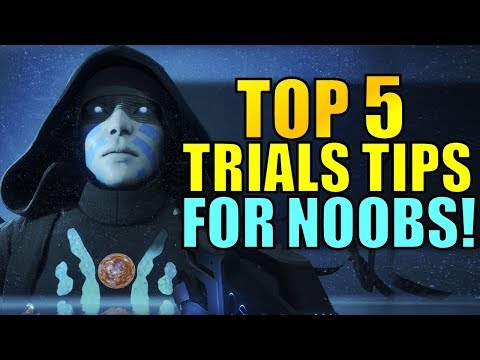 Destiny 2: TOP 5 Trials of the Nine Tips FOR NOOBS!