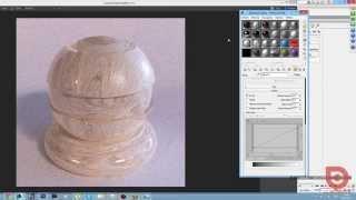 3Ds Max. CORONA RENDER. Создание материала дерева. 3Ds Max.