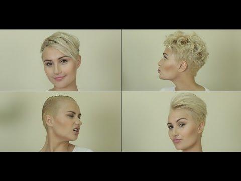 Как завить очень короткие волосы