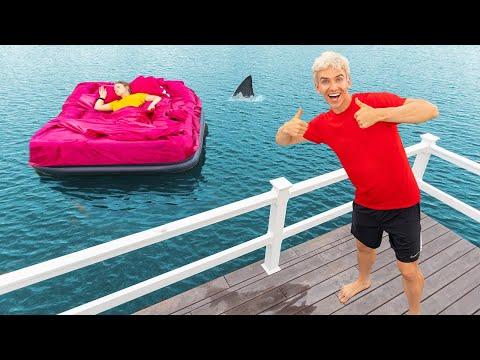 GRACE SHARER WAKES UP ON OCEAN PRANK!!