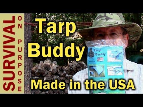 Tarp Buddy - World's Best Tarp Fastener