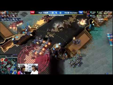 Flash vs INnoVation TvT Code S Ro16 Group D Match 2, 2015 HOT6 GSL Season 3   StarCraft 2