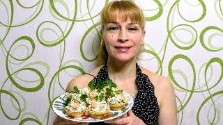 Холодные закуски в тарталетках на праздничный стол - НАЧИНКА ДЛЯ ТАРТАЛЕТОК