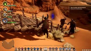 Let's play Dragon Age Inquisition Nightmare Episode 116 (Blind playthrough)Old prison road