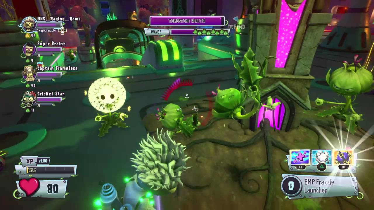 Plants Vs Zombies Garden Warfare 2 Giga No Torchwood Quest Completed Physicist Youtube