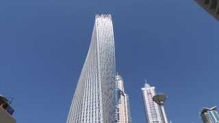 Cayan Tower known as Infinity Tower Dubai, UAE